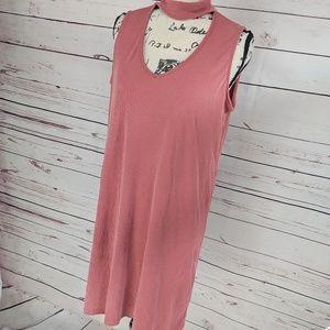 Drew Ribbed Choker Dress